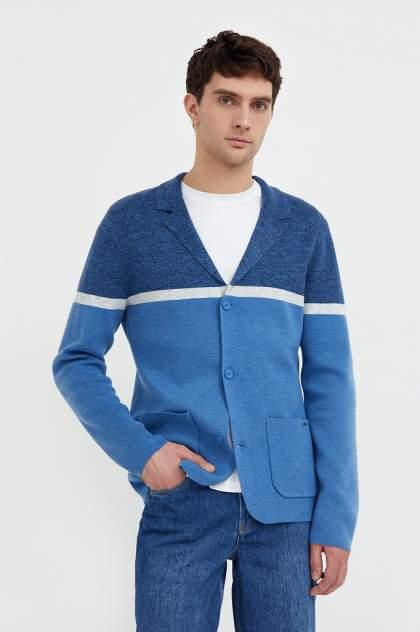 Кардиган мужской Finn Flare B21-21127 голубой 2XL