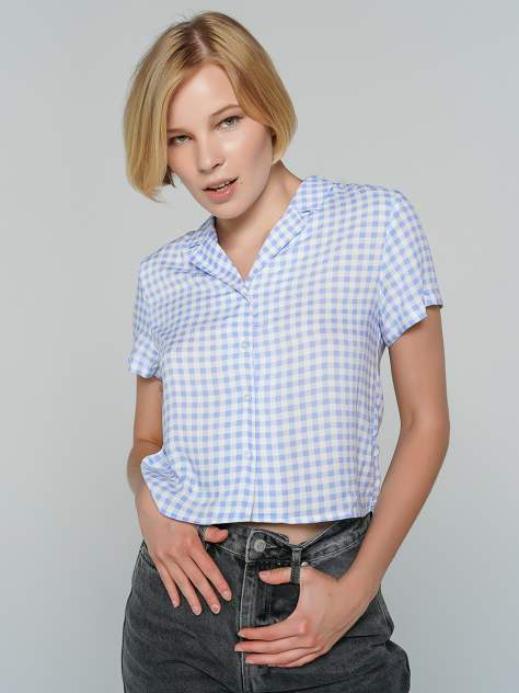 Женская рубашка ТВОЕ A8050, голубой