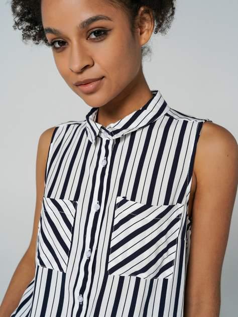 Рубашка женская ТВОЕ A8060 синяя XS