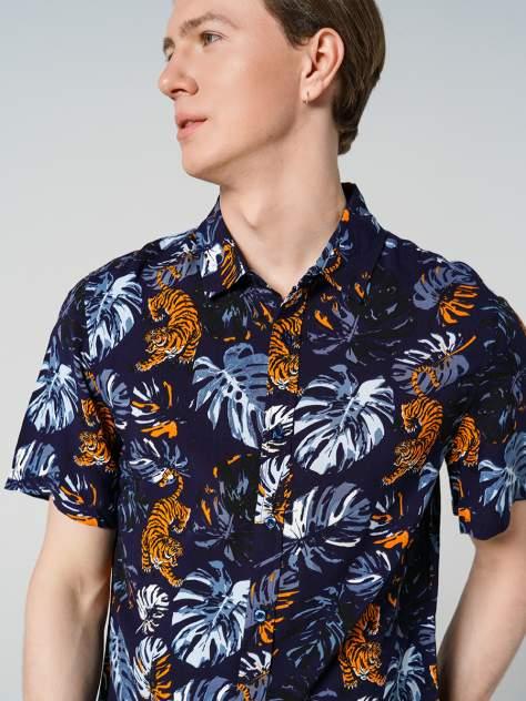 Рубашка мужская ТВОЕ A7936, синий
