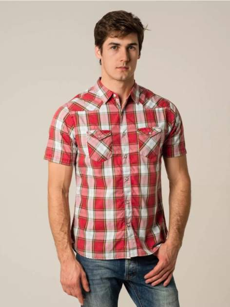 Рубашка мужская Caterpillar 2611064-97K красная L