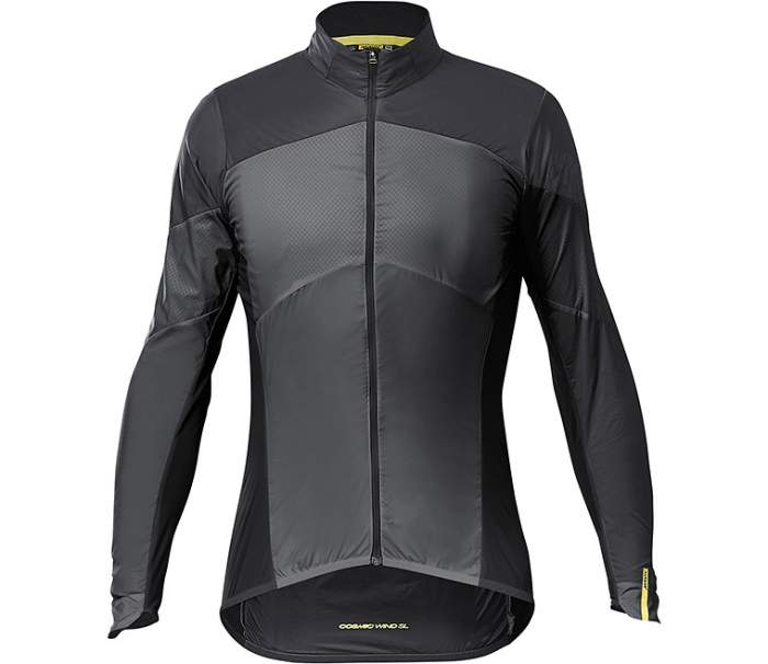 Куртка MAVIC COSMIC Wind SL, черный, XXL INT