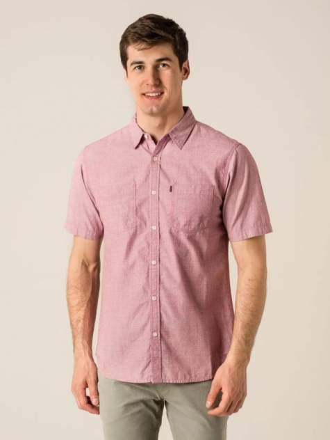 Рубашка мужская Caterpillar 2610066-10448 розовая 2XL