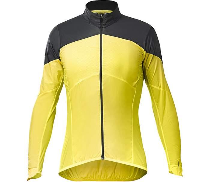 Куртка MAVIC COSMIC Wind SL, желтый, S INT