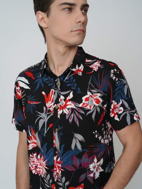 Рубашка мужская ТВОЕ A6304 черная M