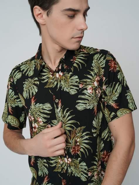 Рубашка мужская ТВОЕ A6303 черная S
