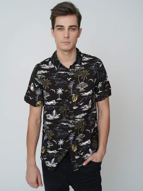 Рубашка мужская ТВОЕ A6302 черная L