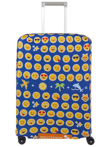 Чехол для чемодана Routemark Эмоджи M/L