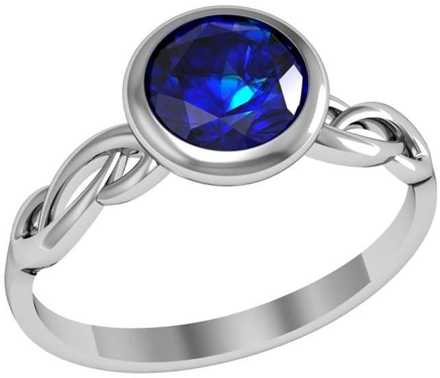Кольцо женское ПРИВОЛЖСКИЙ ЮВЕЛИР 271079-FA59 р.19