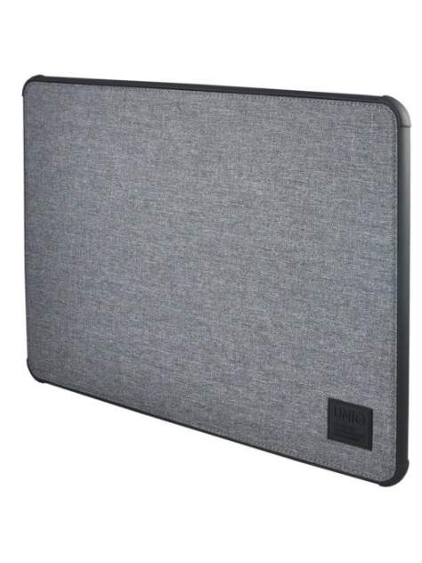 Чехол для ноутбука унисекс Uniq DFender Sleeve Kanvas серый
