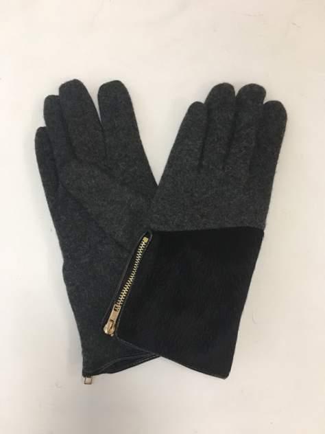 Перчатки женские Venera 9503864 черные/серые/золотистые
