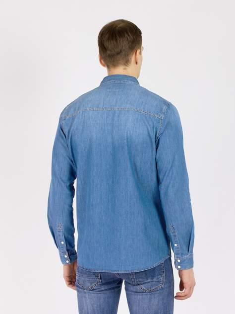 Джинсовая рубашка мужская XINT GD61200244 голубая M