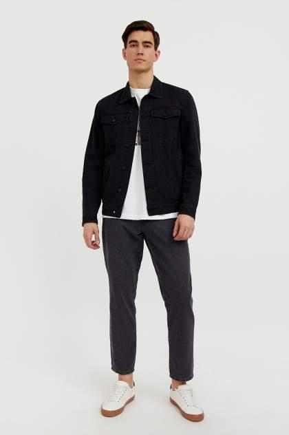 Мужская джинсовая куртка Finn Flare B21-25000, черный