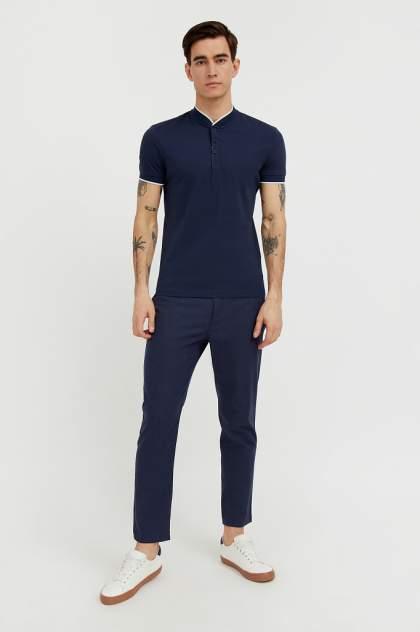 Классические брюки Finn Flare S21-24025, синий