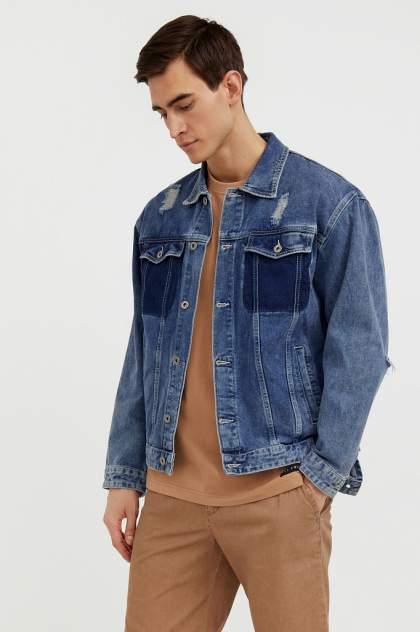 Мужская джинсовая куртка Finn Flare S21-25005, синий