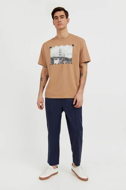 Классические брюки Finn Flare S21-21027, синий