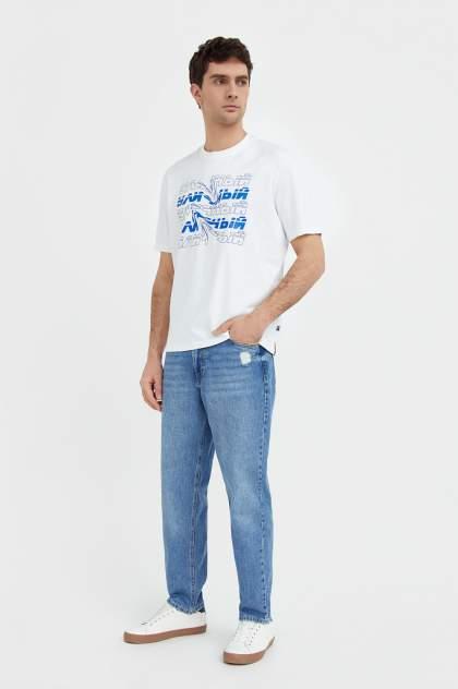 Джинсы мужские Finn Flare B21-25018, голубой