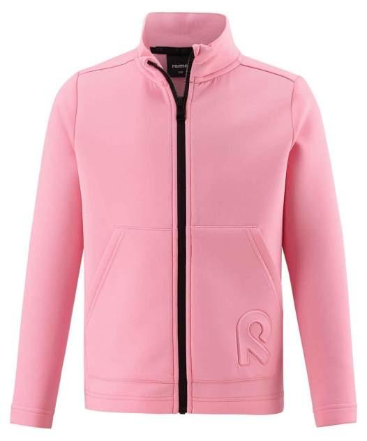 Толстовка горнолыжная флис Reima 2020-21 Vigur Bubblegum Pink, р. 164