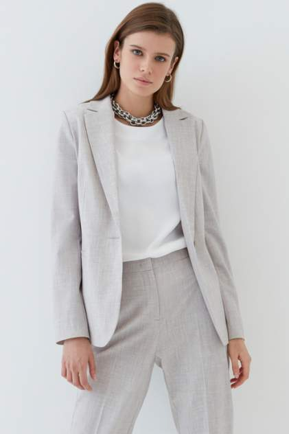 Пиджак женский ZARINA 1224202622 серый 44 RU