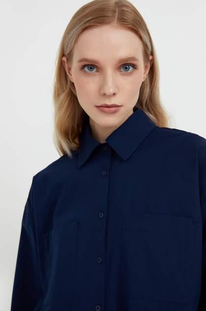 Женская блуза Finn Flare S21-11051, синий