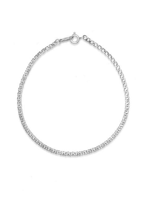 Браслет женский TOP CRYSTAL 40675152 из серебра, р. 19