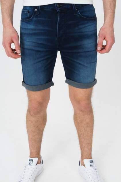 Джинсовые шорты мужские Jack & Jones 12170014 синие 46 RU