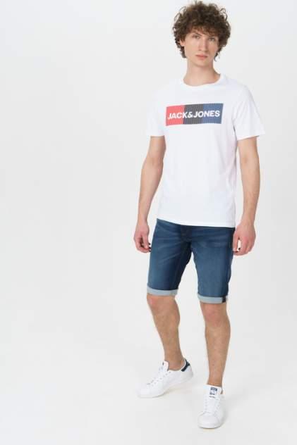 Джинсовые шорты мужские Jack & Jones 12166429 синие 48 RU