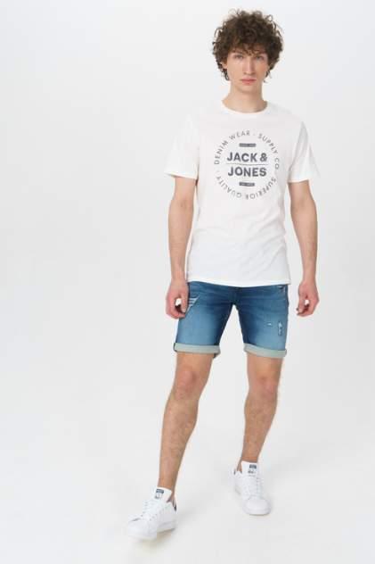 Джинсовые шорты мужские Jack & Jones 12166270 синие 46 RU