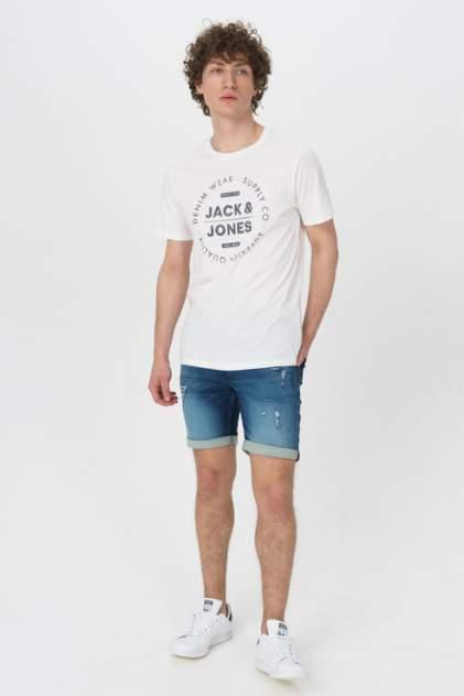 Джинсовые шорты мужские Jack & Jones 12166270 синие 54 RU