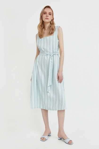 Женское платье Finn Flare S21-11001, зеленый
