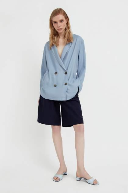 Женские шорты Finn Flare S21-11064, синий