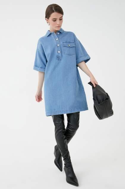 Женское платье ZARINA 1123446546, голубой