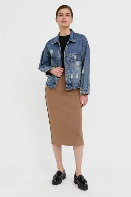 Женская джинсовая куртка Finn Flare B21-15016, синий