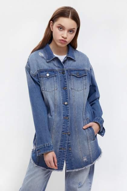 Женская джинсовая куртка Finn Flare B21-15002, синий