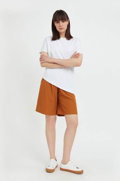 Женские шорты Finn Flare S21-11064, коричневый