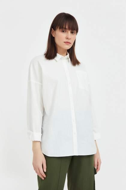 Женская блуза Finn Flare S21-11006, белый