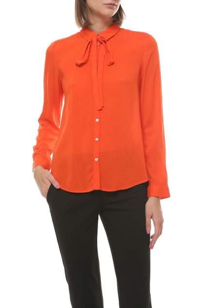 Рубашка женская S.Oliver 41.708.11.8296 оранжевая 44