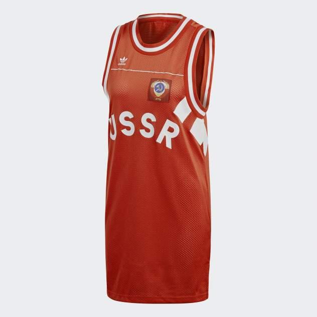 Женское платье Adidas CE2309, красный