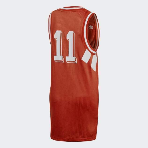 Платье-футболка женское Adidas CE2309 красное 34