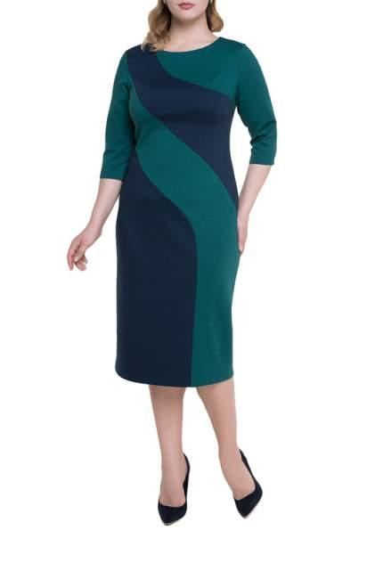Платье женское Незнакомка 00.5021.1304 синее 52