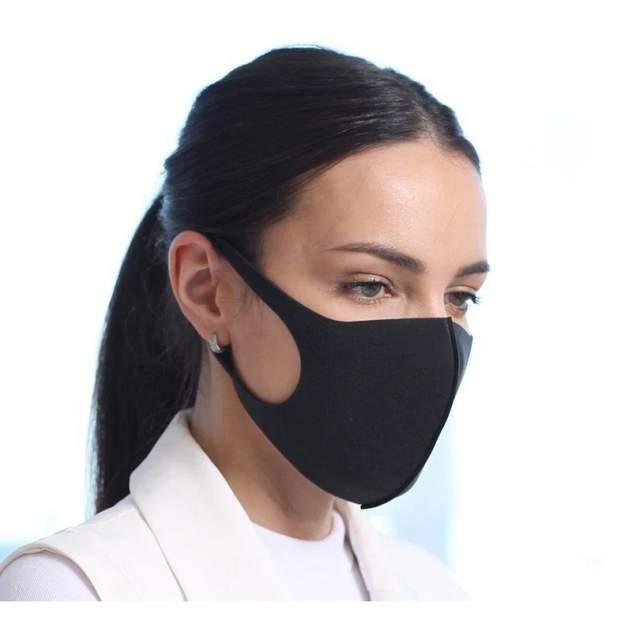 Многоразовая маска унисекс HelSurDis Классика черная