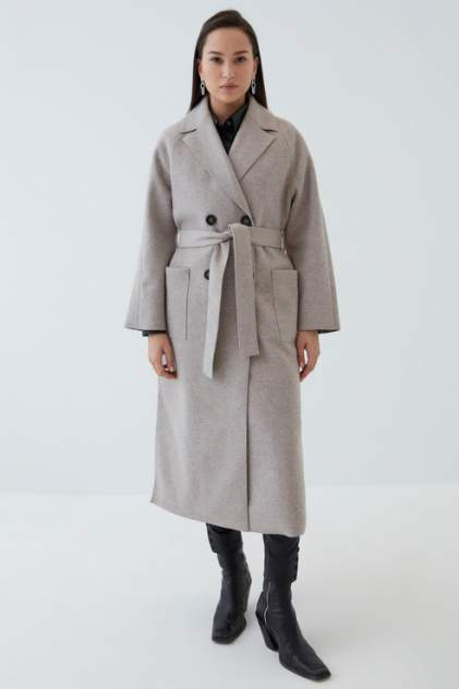 Женское пальто ZARINA 1123458138, бежевый