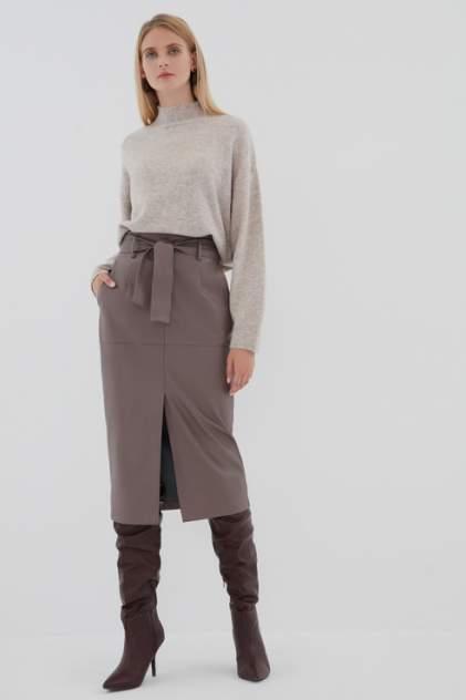 Женская юбка ZARINA 0422223223, коричневый