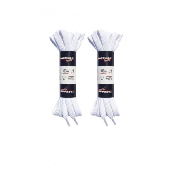 Шнурки для обуви Tarrago P-TL6308 белые 100см (две пары)
