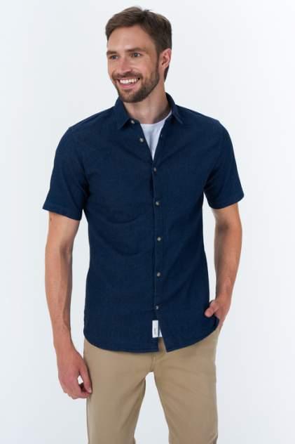 Рубашка мужская ONLY & SONS 22019751, синий