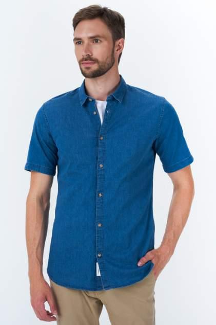 Рубашка мужская ONLY & SONS 22019751, голубой