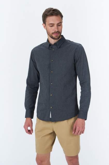 Рубашка мужская ONLY & SONS 22019165, синий