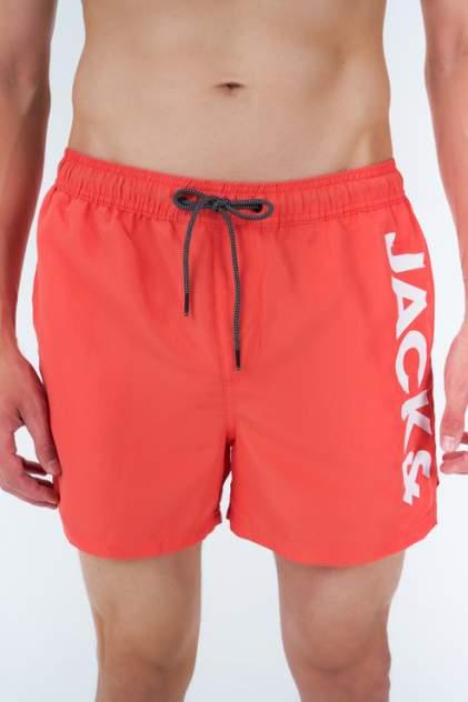 Шорты для плавания мужские Jack & Jones 12183806 оранжевые 50 RU