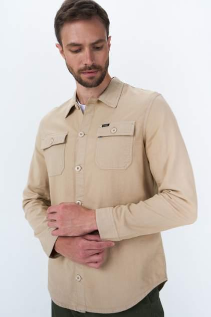 Рубашка мужская Guess M1GH23WDT52G036, бежевый