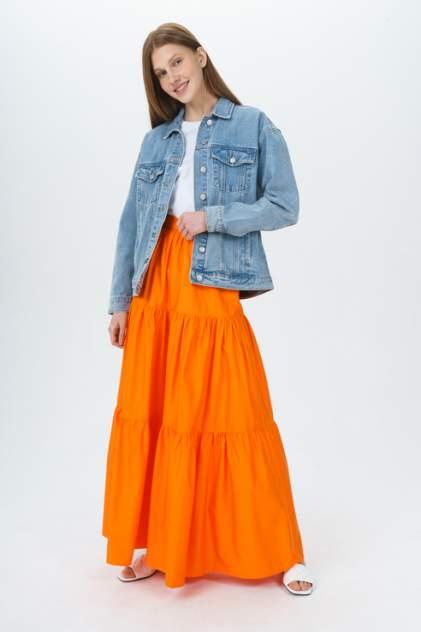Женская юбка Guess W1GD1AWDXM0G3G2, оранжевый